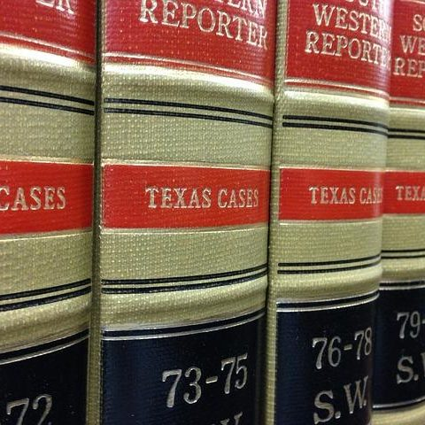 Texas Cases Law Books